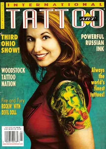 international tattoo art magazine