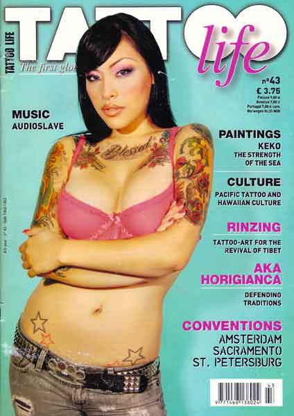 tattoolife magazine #43-cover