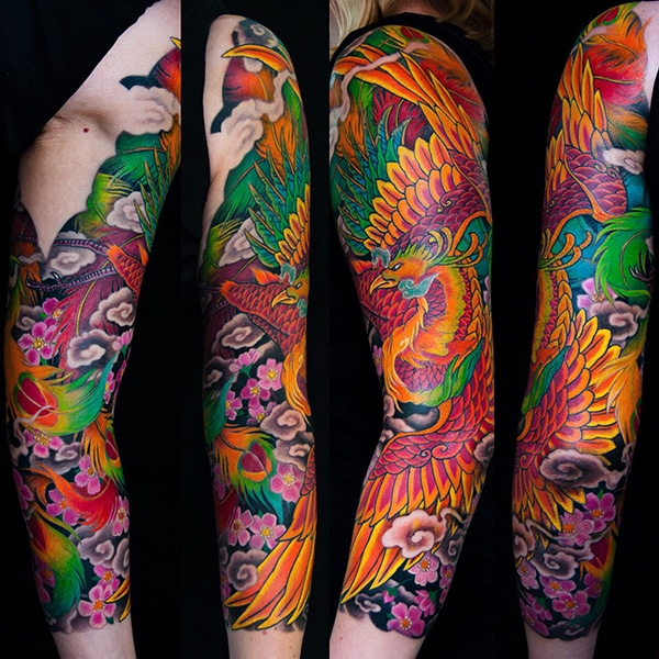japanese tattoo george bardadim tattoo artist nyc