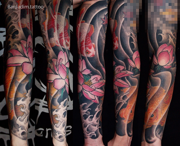 Japanese Tattoos NYC. Japanese Tattoos. Sleeve Tattoo