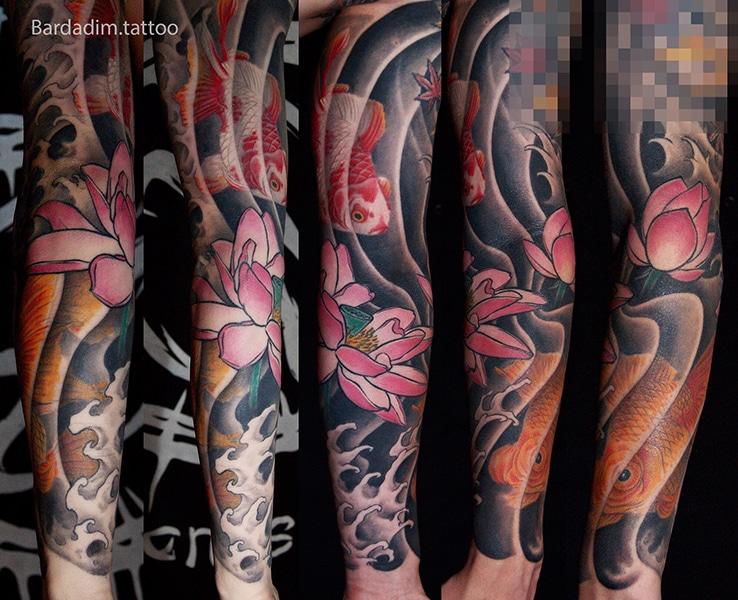 Japanese Tattoos NYC. Japanese Tattoos. Sleeve Tattoo