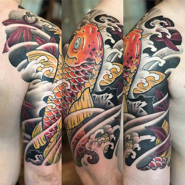 JAPANESE TATTOOS NYC - GEORGE BARDADIM - Brooklyn NY