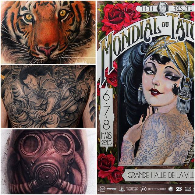 Paris Tattoo Convention 2015