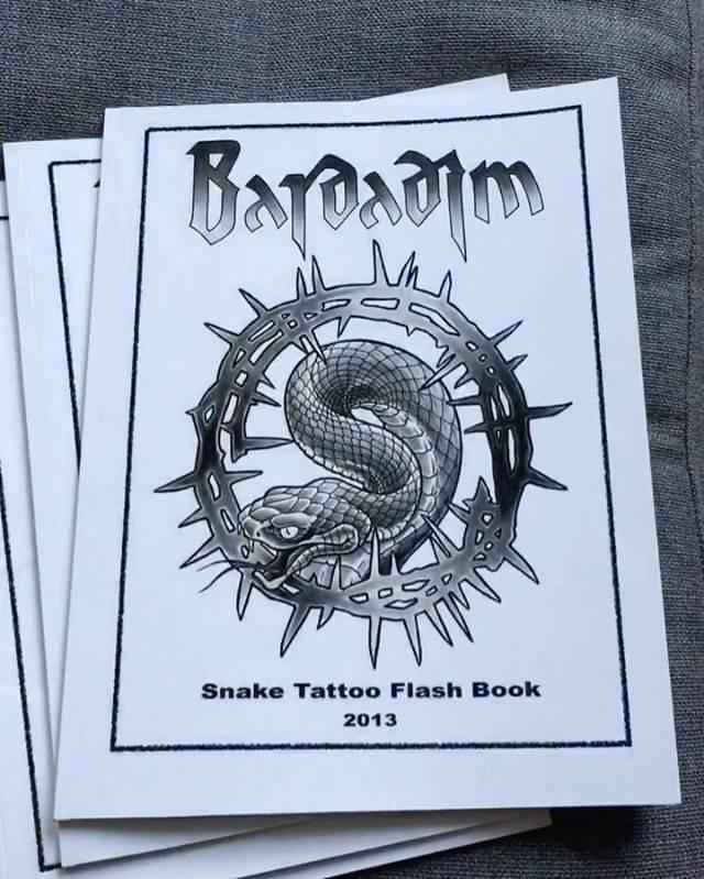 snake tattoo book
