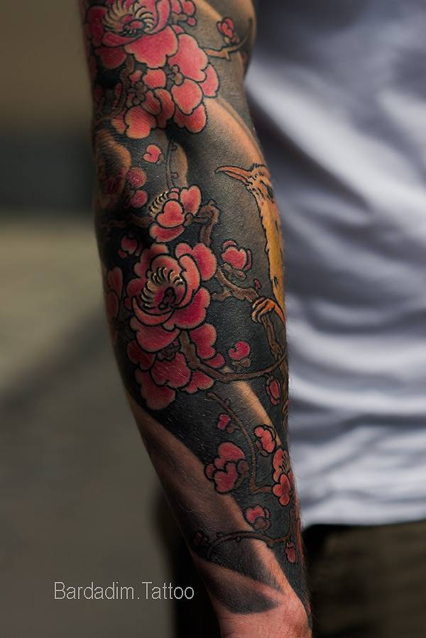 Tattoo Aftercare. Japanese Sleeves