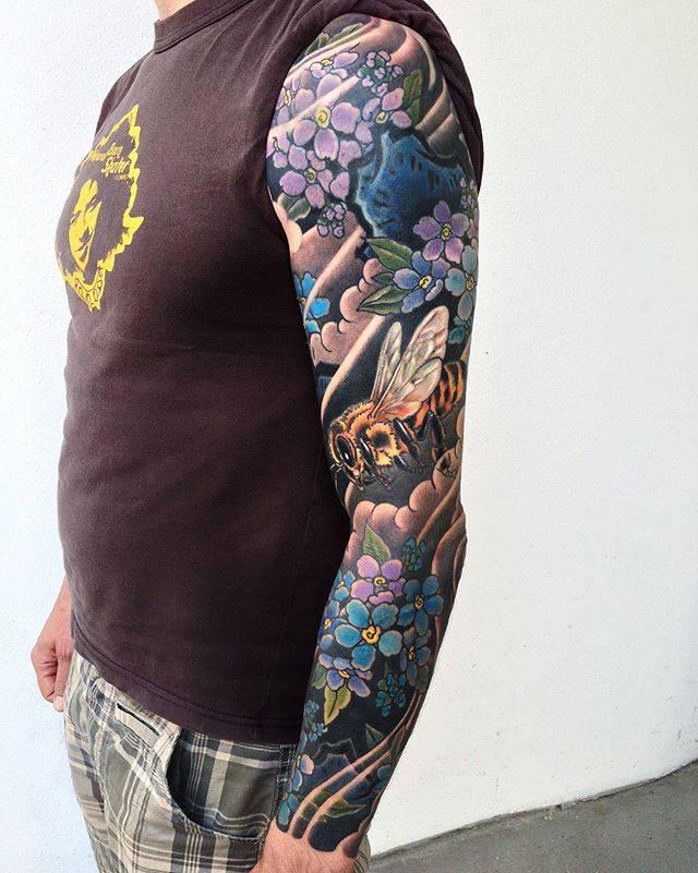 Japanese tattoo full sleeve