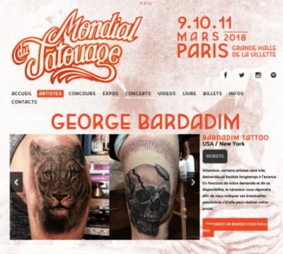 Le Mondial Du Tatouage 2018