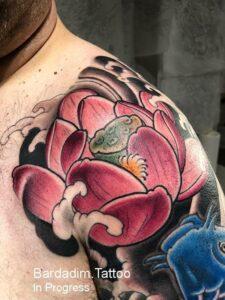 Lotus Japanese Tattoo
