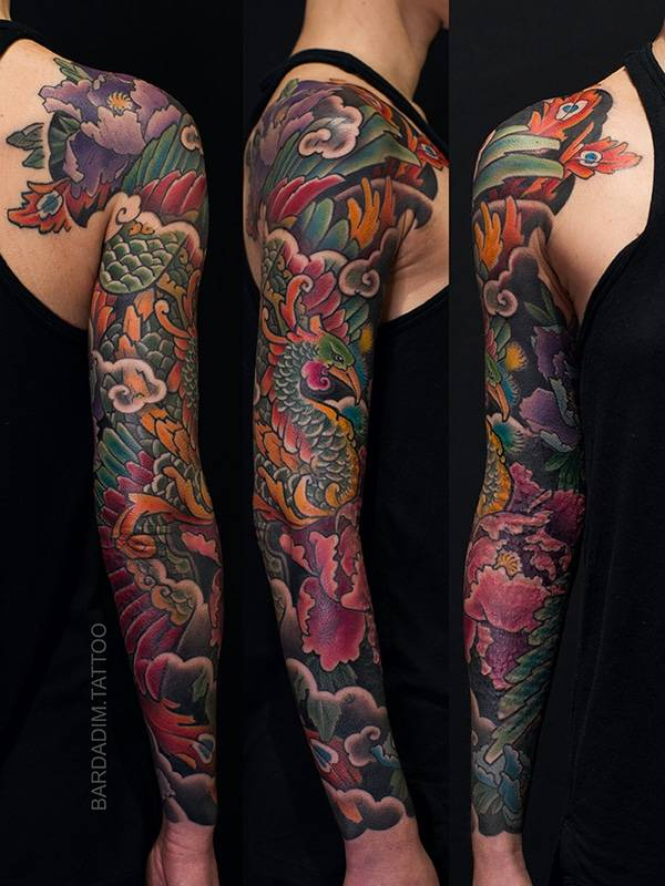 Female Japanese Sleeve
