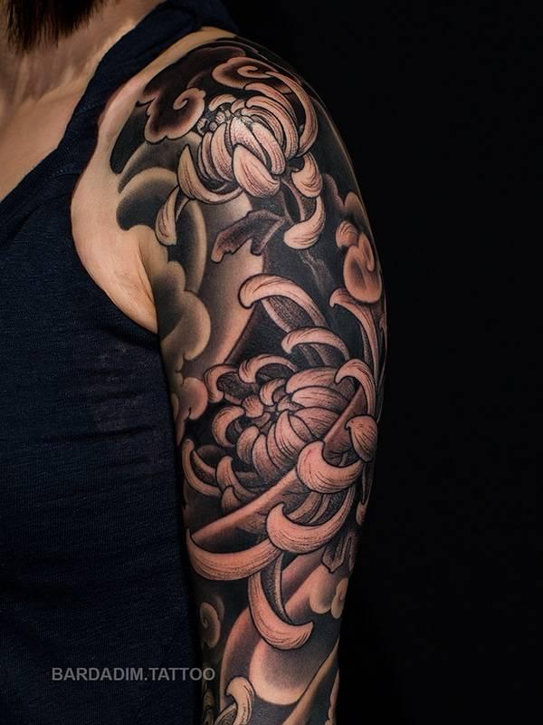 Feminine Japanese Tattoo