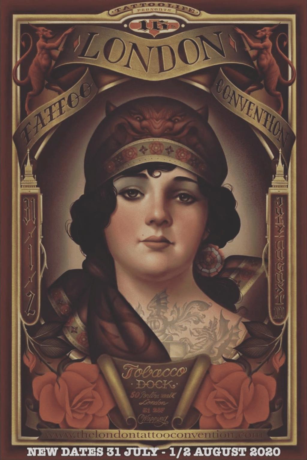 London Tattoo Convention 2020