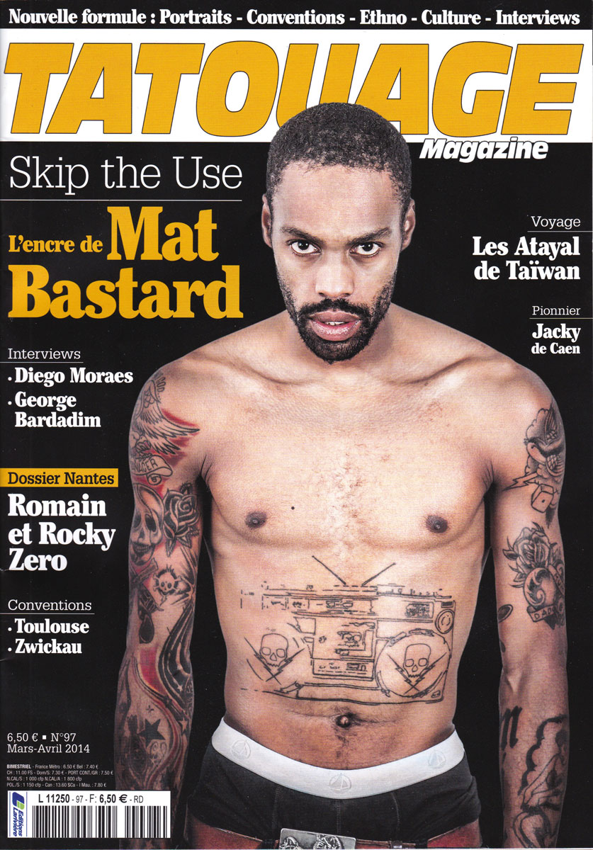 Tatouage magazine Apr2014-cover