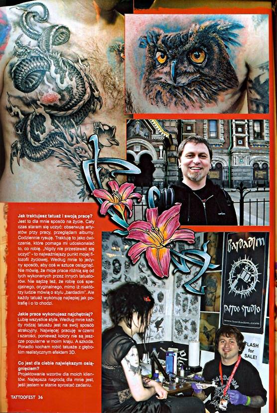 Tattoo Fest Magazine # 5/2007. Poland
