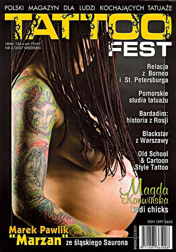 Tattoo Fest Magazine # 5/2007.