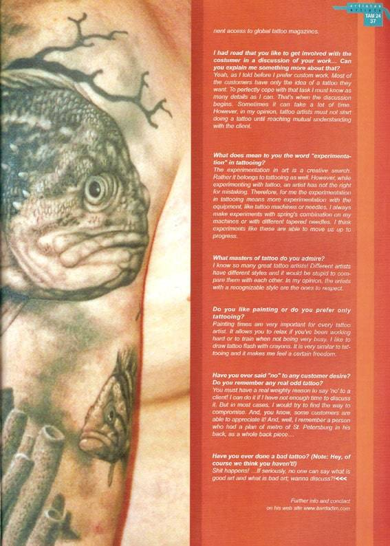 Tattoo Arte Magazine