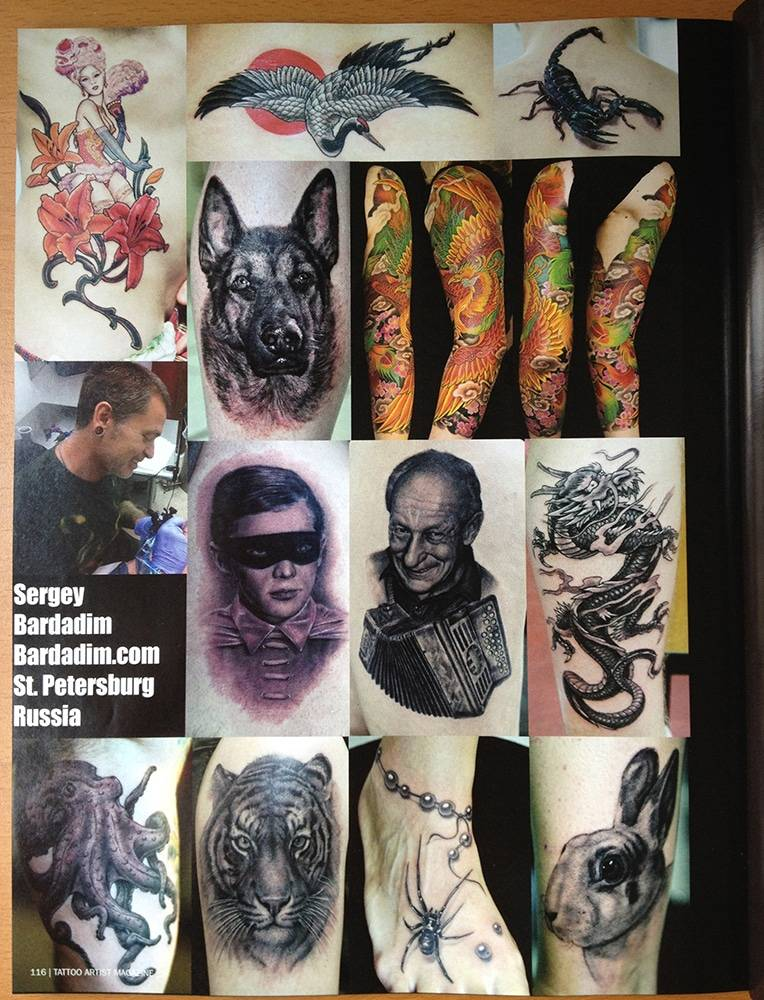 Tattooartist magazine