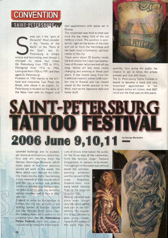 Tattoo Life Magazine # 43/2006.
