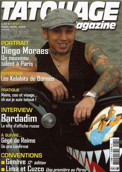 Tatouage Magazine # 61, April 2008