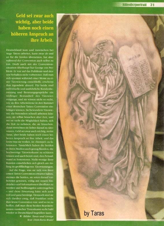 Tatowier Magazine, 11/1999.