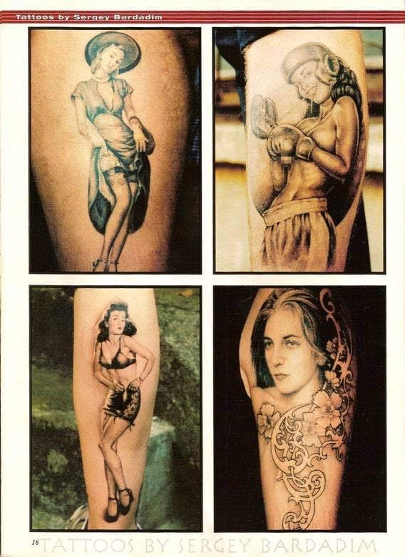 International Tattoo Art Magazine, May 2005. USA.International Tattoo Art Magazine, May 2005. USA.