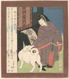 Gakutei Nobleman print